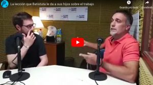 """Il figlio di Gabriel Omar Batistuta lavora in una copisteria: """"Il lavoro regala dignità"""""""