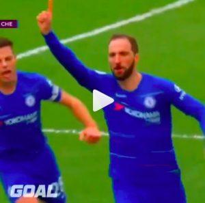 Higuain e Jorginho lanciano Sarri, Chelsea batte Fulham e rivede zona Champions