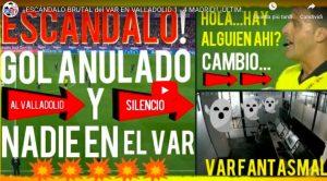 Valladolid-Real Madrid, arbitro attende ma la VAR room è vuota: chi ha annullato il gol?
