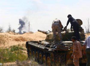 libia battaglia