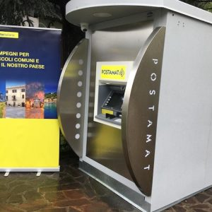 Installati i primi sportelli Postamat nei comuni senza Ufficio Postale