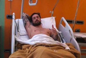 "Claudio Marchisio ko, altro infortunio al ginocchio: ""Mi rialzerò"""