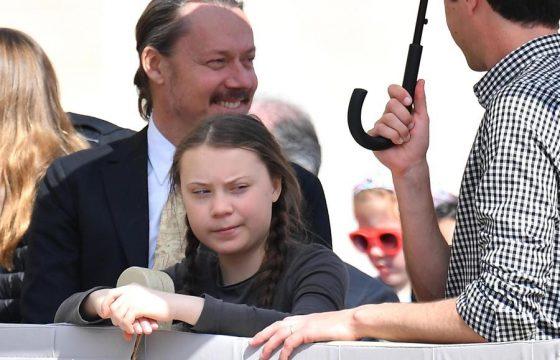 Greta Thunberg incontra Papa Francesco7