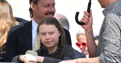 Greta Thunberg incontra Papa Francesco6