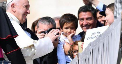 Greta Thunberg incontra Papa Francesco2