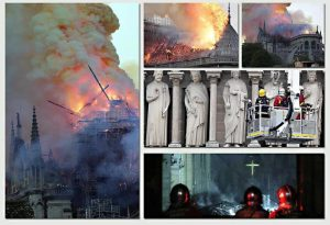 """Notre-Dame, procuratore Parigi: """"Atto doloso escluso12"""