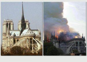 """Notre-Dame, procuratore Parigi: """"Atto doloso escluso14"""