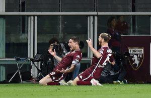 Il Torino batte il Milan e lo aggancia, zona Champions a -2