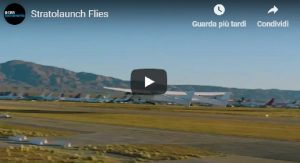 YOUTUBE California, primo volo per l'aereo più grande del mondo