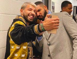 """La maledizione di """"Drake"""": fai la foto con lui e poi... perdi. L'ultimo? Aguero"""