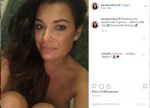 Alena Seredova e la foto che scatena i fan: Gigi Buffon che hai fatto?