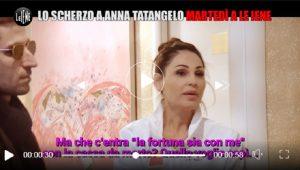 Anna Tatangelo testimonial di bare, lo scherzo de Le Iene
