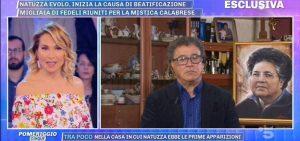 Natuzza Evolo, figlio Antonio a Pomeriggio 5: Grazie Chiesa beatificazione