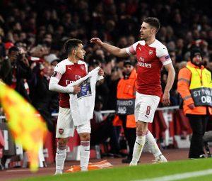 Arsenal-Napoli 2-0, Ramsey e Torreira firmano l'allungo