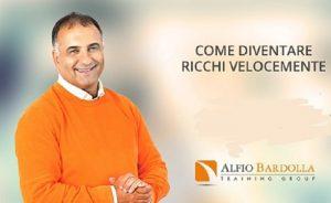Alfio Bardolla e il corso sulla capacità di produrre denaro e trasformarlo in ricchezza