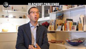 le iene blackout challenge