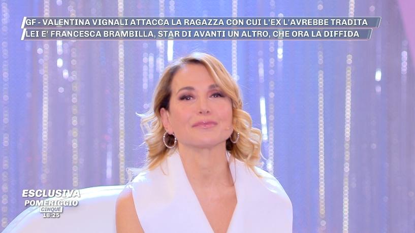 Francesca Brambilla Calendario.Francesca Brambilla Diffida Valentina Vignali In Diretta A