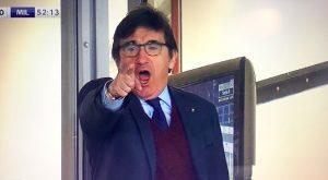 Torino-Milan, Cairo protesta dalla tribuna dopo il mancato rosso a Suso