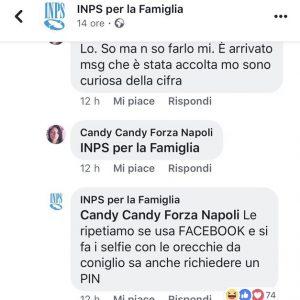 """Candy Candy Forza Napoli, l'utente bullizzata da Inps social: """"Ti fai i selfie con le orecchie da coniglio..."""""""