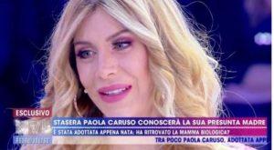 Live Non è la D'Urso, Paola Caruso mamma Imma: il test del Dna