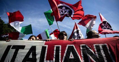 Torre Maura. Antifascisti da una parte, Casapound dall'altra10
