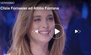 Verissimo, Clizia Fornasier e Attilio Fontana presto sposi