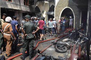 Sri Lanka: nuova bomba espolde vicino chiesa a Colombo5