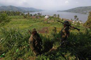Congo, naufragio in un lago: 150 dispersi (foto Ansa)