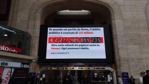 Popolo scarica debito pubblico, sui figli: 55 mila euro a millennial, metà se hai 50 anni