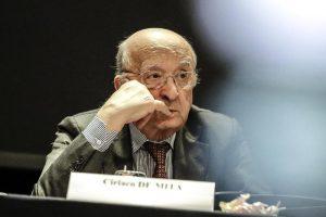 Ciriaco De Mita candidato sindaco di Nusco. A 91 anni