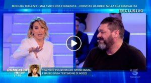"""Domenica Live, Franco Terlizzi in lacrime in diretta: """"Anche se mio figlio fosse gay..."""""""