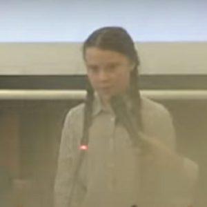 Greta Thunberg, Senato
