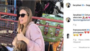 Ilary Blasi incinta? Il commento di Totti scatena i follower di Instagram