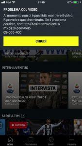Inter-Juventus, lo streaming di Dazn è difettoso: quante proteste sui social