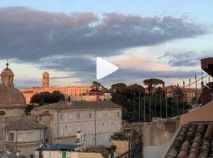 Mara Venier, super attico a Roma con vista sui tetti e sul Cupolone. Il video è mozzafiato