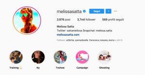 Melissa Satta torna single su Instagram, tolto il cognome Boateng