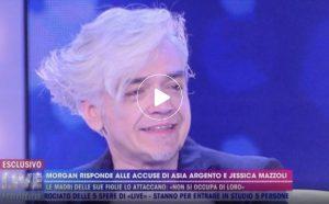 """Live Non è la D'Urso, Morgan: """"Jessica Mazzoli mi ha incastrato"""""""