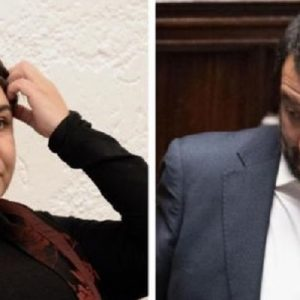 """Michela Murgia a Salvini: """"Facciamo il gioco dei Cv, chi dei due è radical chic?"""""""