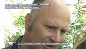 Nicola Feroleto in caserma per omicidio Gabriel a Piedimonte