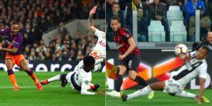 Rose come Alex Sandro in Juventus-Milan, la foto è virale sui social