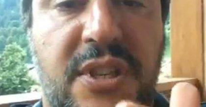 """Cdm al via senza Di Maio. Salvini: """"Salva Roma fuori da dl crescita"""" (foto Ansa)"""