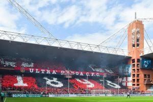 Sampdoria-Genoa, foto striscioni e coreografie del derby: sugli spalti hanno vinto entrambe le tifoserie