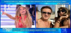 Sarah Altobello e la verità su Tony Toscano a Pomeriggio 5