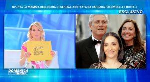 Serena Rutelli, lettera della madre biologica a Domenica Live