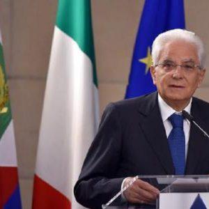 """Sergio Mattarella: """"No a riscritture del 25 Aprile, fu un secondo Risorgimento"""" (foto Ansa)"""