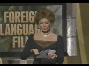 """Sophia Loren, il retroscena: """"Quando Benigni vinse l'Oscar...''"""
