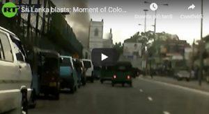 Sri Lanka, il momento in cui esplode una bomba nella chiesa di Sant'Antonio