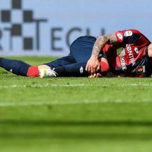 Stefano Sturaro salta Spal-Genoa per infortunio, ha una distorsione al ginocchio