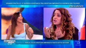 Domenica Live, lite tra Guendalina Tavassi e cognata Cristian Imparato