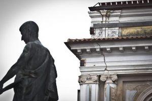 Terremoto L'Aquila 2009-2019, l'intervista a Maurizio Pignone (INGV) (foto Ansa)